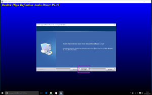 Windows10 - BootCamp - RealTek をインストール