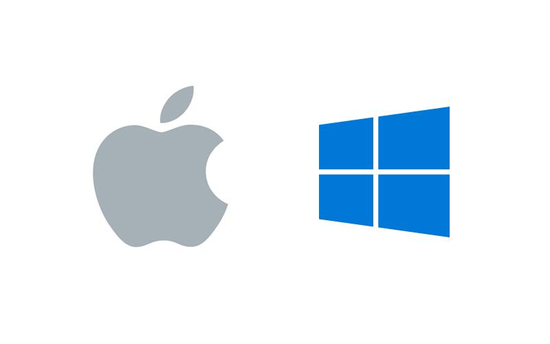 MacOSとWindowsOSの切り替え